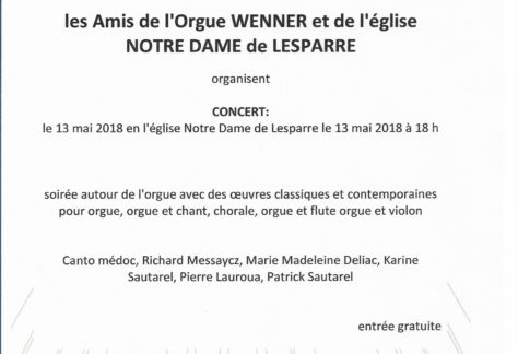 2018.05.13 - Journée de l'orgue