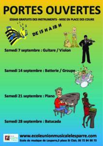 2019.09.07 - affiche portes ouvertes école de musique