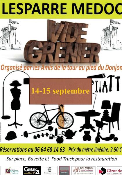 2019.09.14 - Vide Grenier Amis de la Tour
