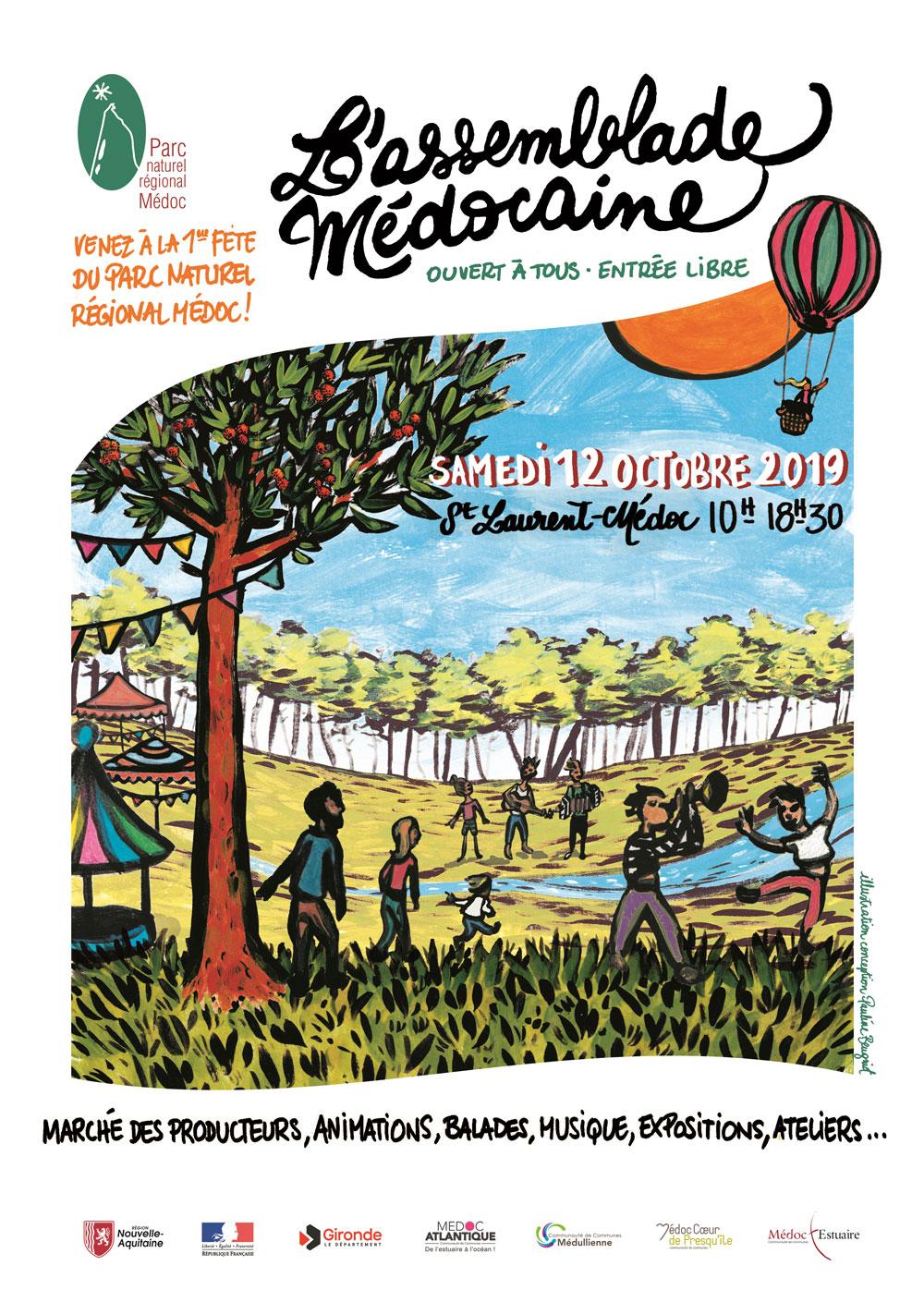 2019.10.12---Assemblade-Médocaine-St-Laurent---Affiche