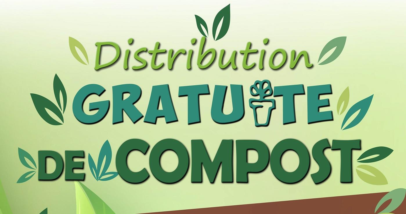 AFFICHE DISTRIBUTION DE COMPOST POUR SITE INTERNET 2020 - Bandeau