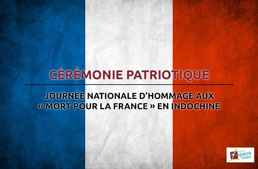 Cérémonie patriotique - 8 juin