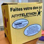 Lesparre - Boite aux lettres Téléthon