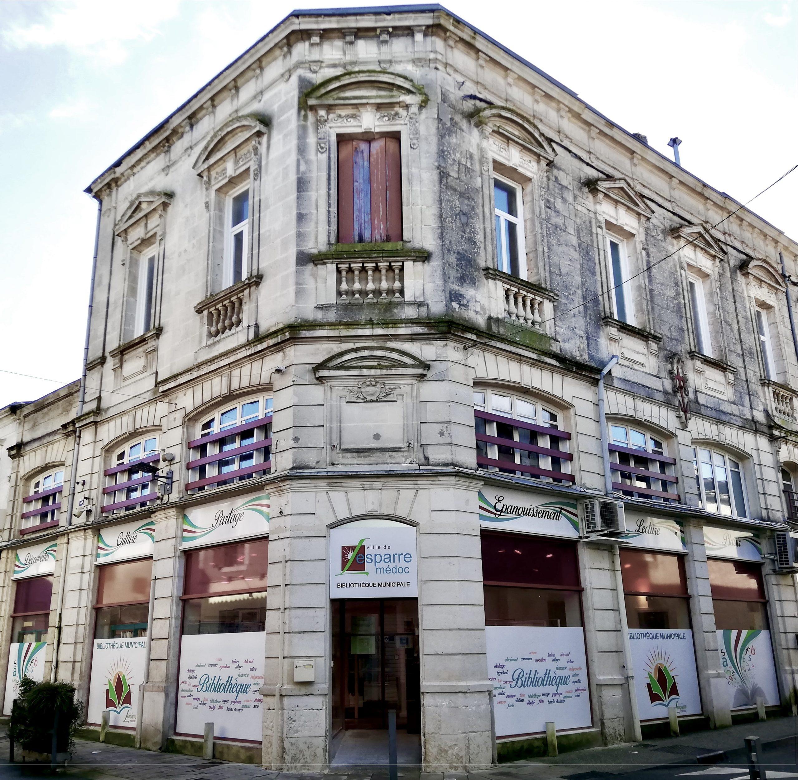 Nouvelle bibliothèque de Lesparre - Façade