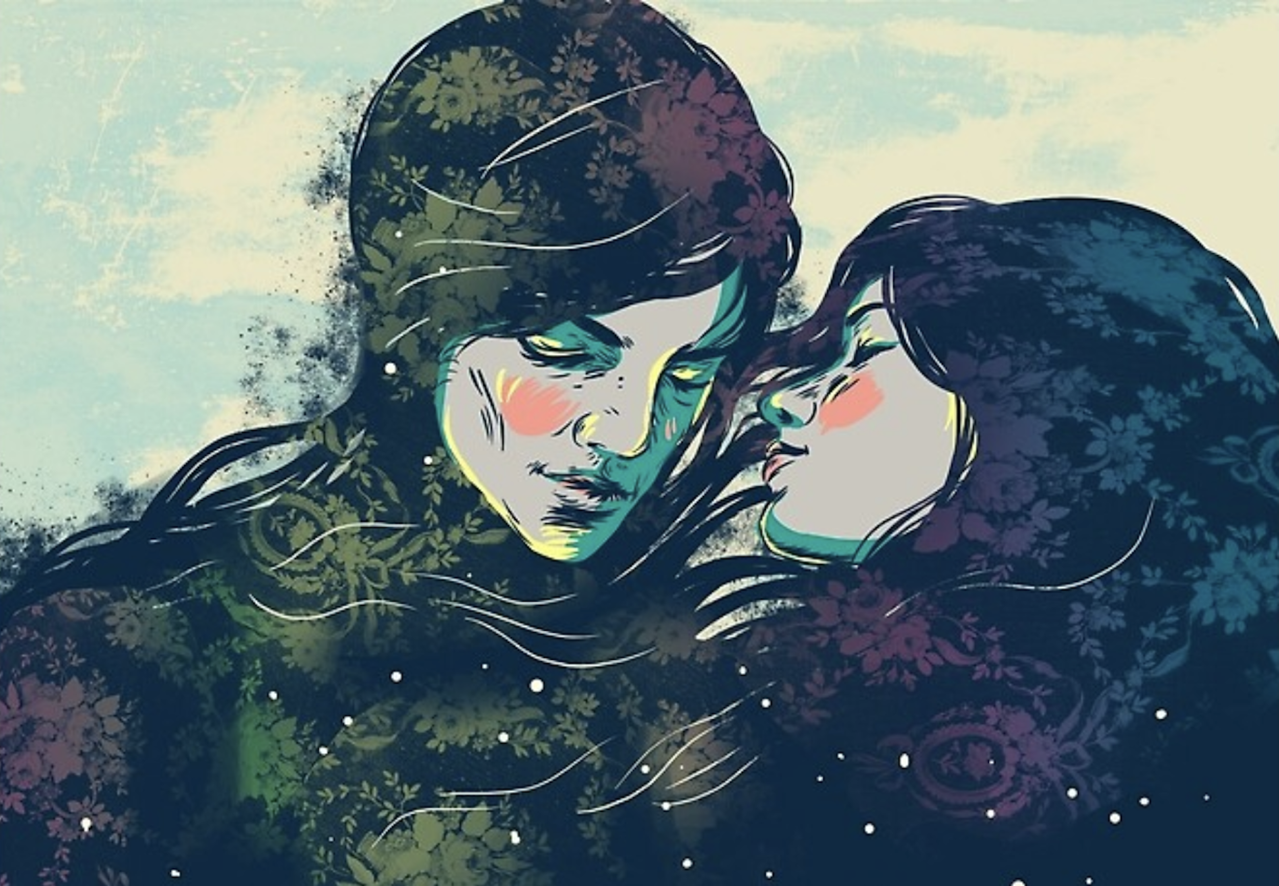 Illustration Romeo et juliette